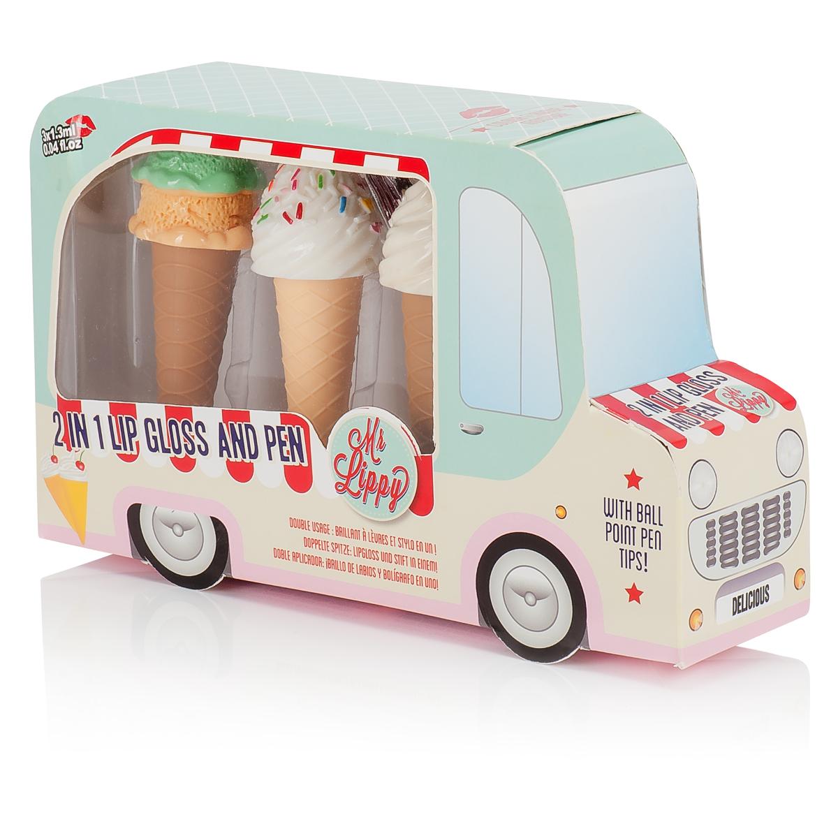 """2 i 1 Läppglans och penna """"Ice Cream"""""""