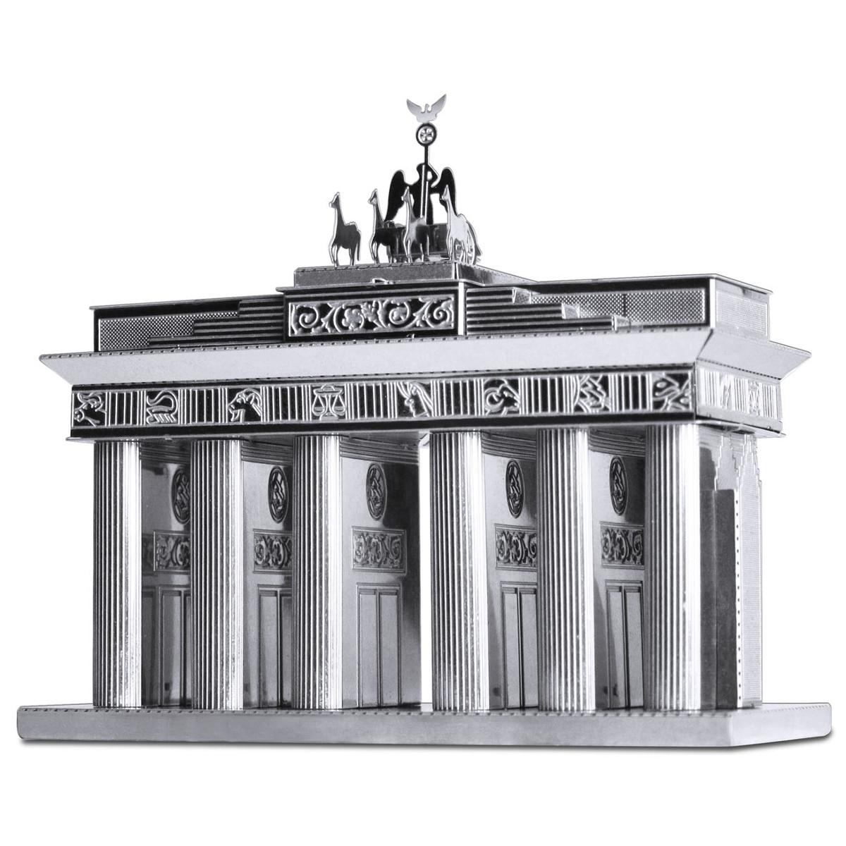 3D-Byggsats i metall: Brandenburger tor