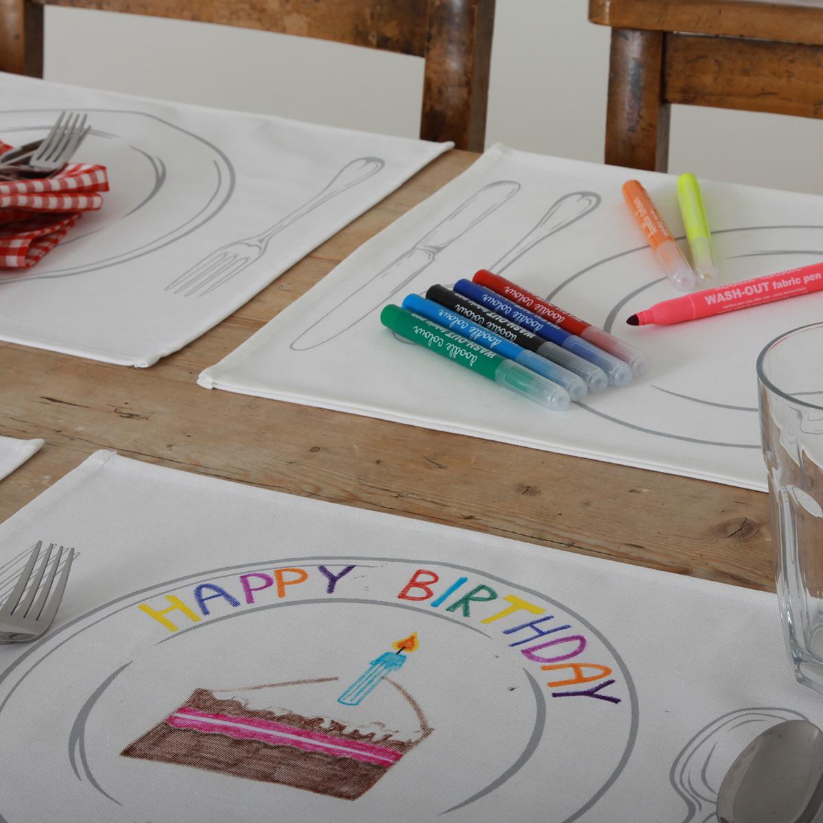 Bordsunderlägg att måla på
