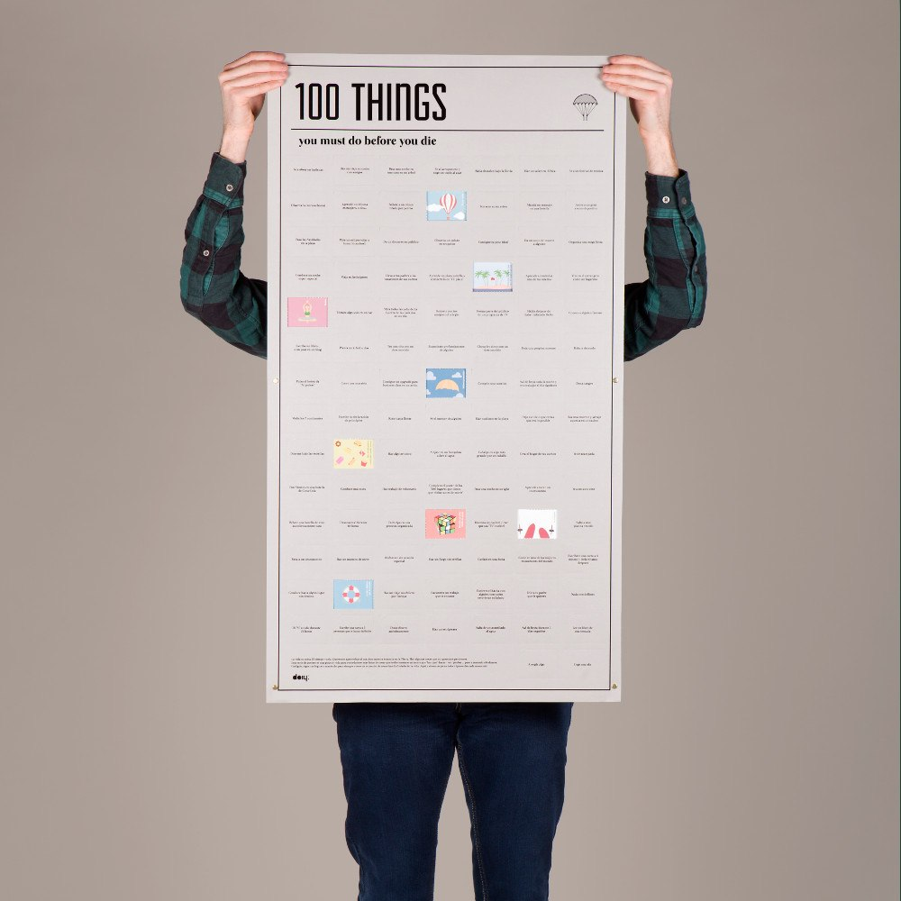 100 saker du måste göra innan du dör