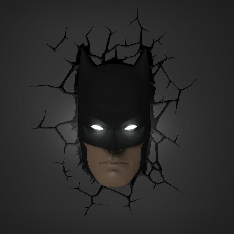 3D lampa - Batman