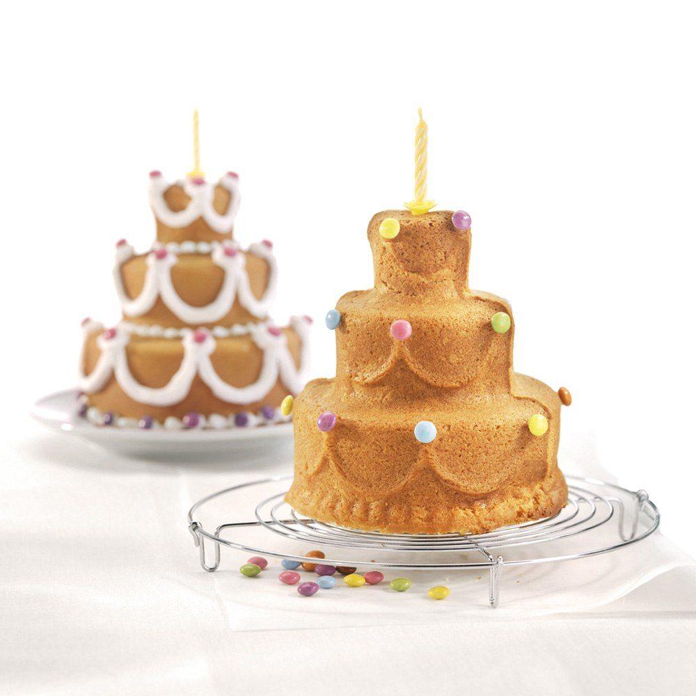 Bakform för födelsedagskaka