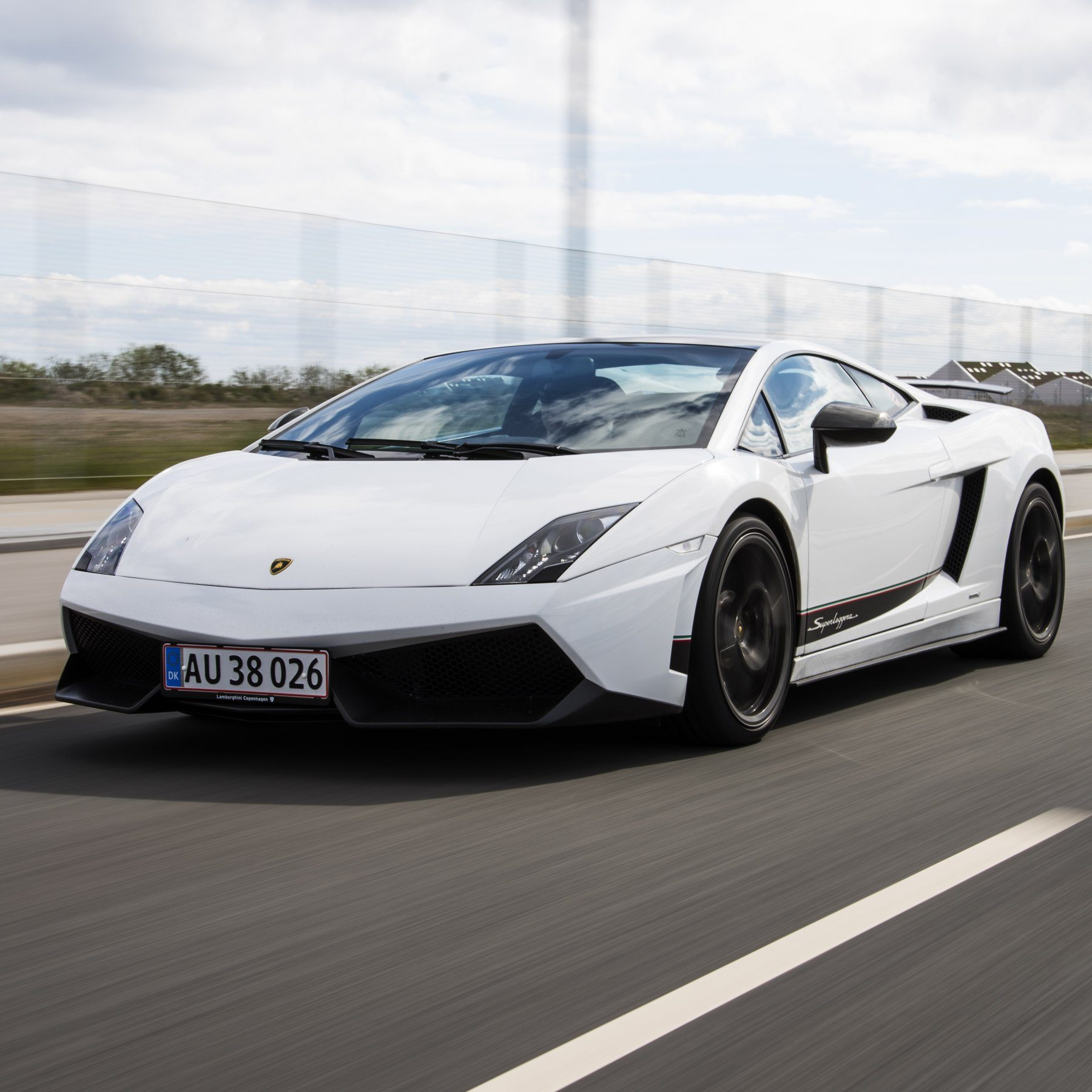 Bankörning Lamborghini – Knutstorp