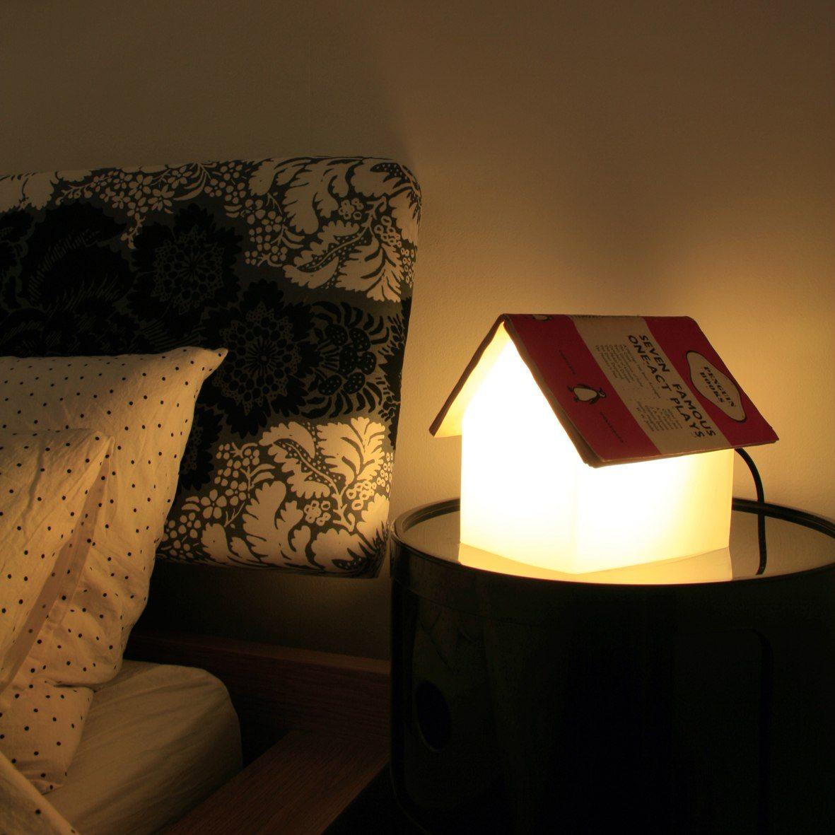 Bokstöd Lampa