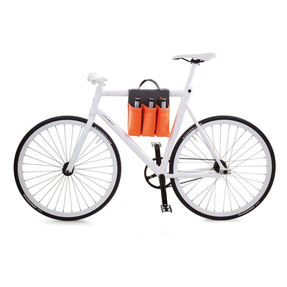 Cykelväska för öl, vin eller tidning