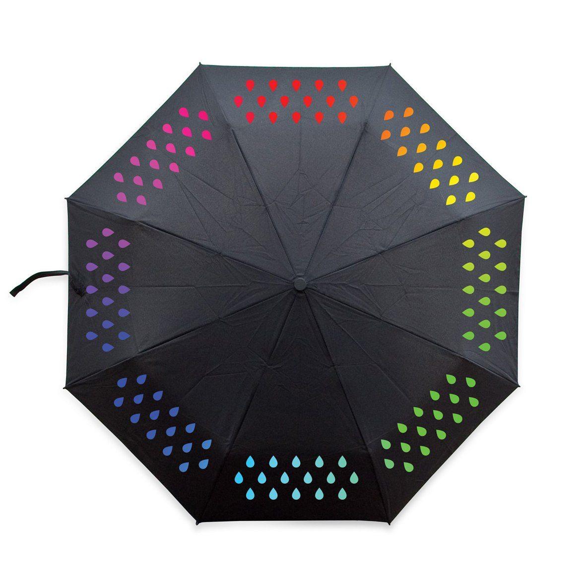 Färgskiftande paraply