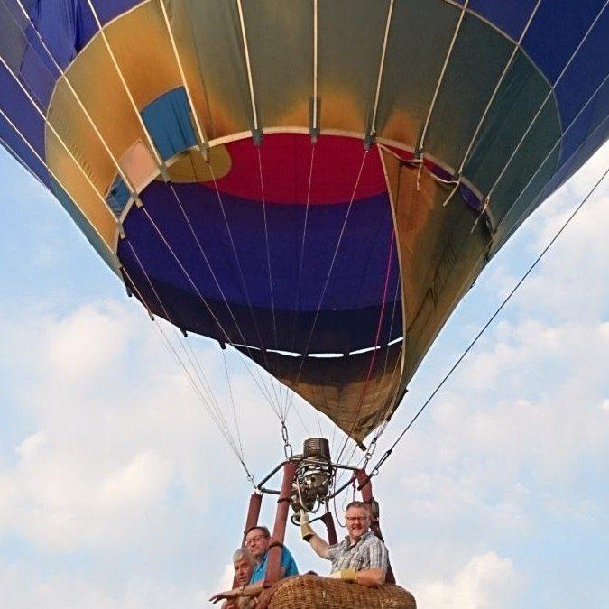 Flyg luftballong - Växjö
