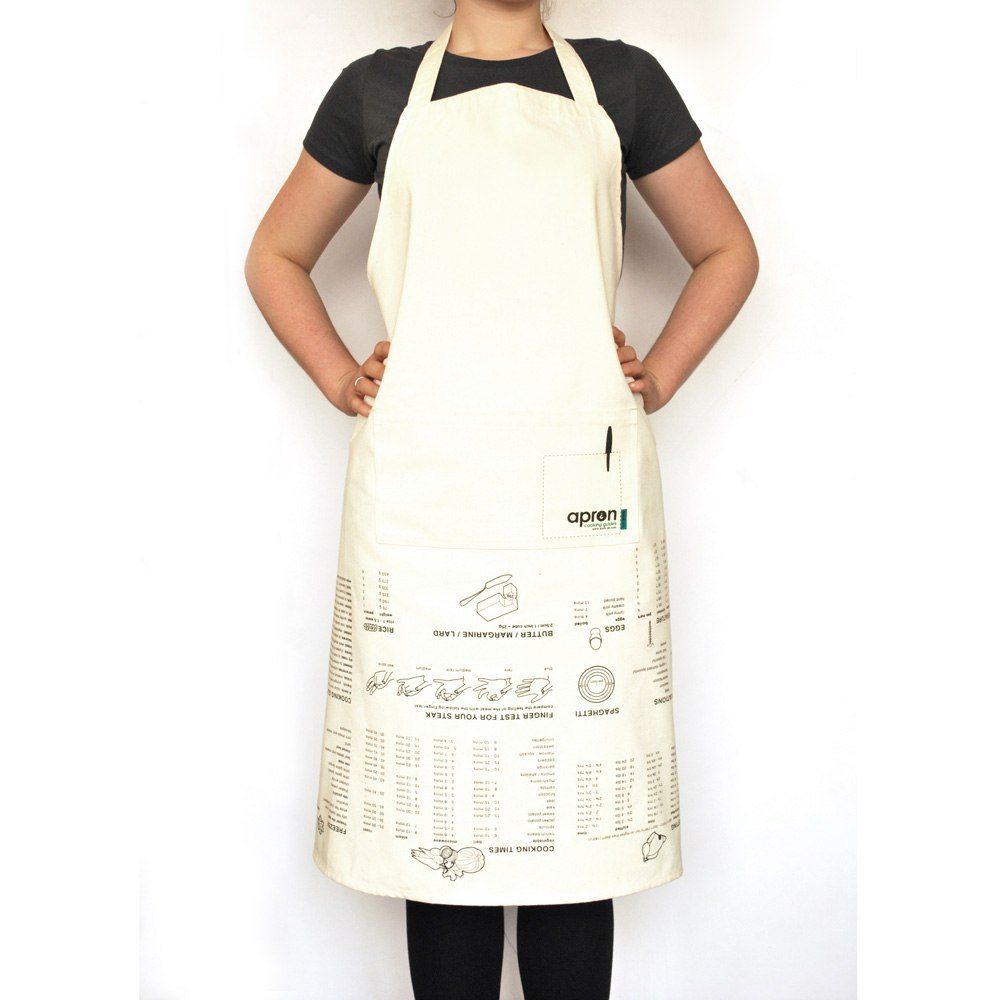 Förkläde med hemliga kock-tips