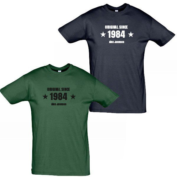 """Herr t-shirt """"Original since"""""""