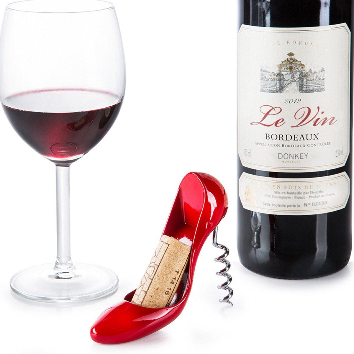 Högklackad vinöppnare