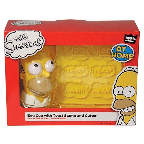 Homer Simpson frukostset
