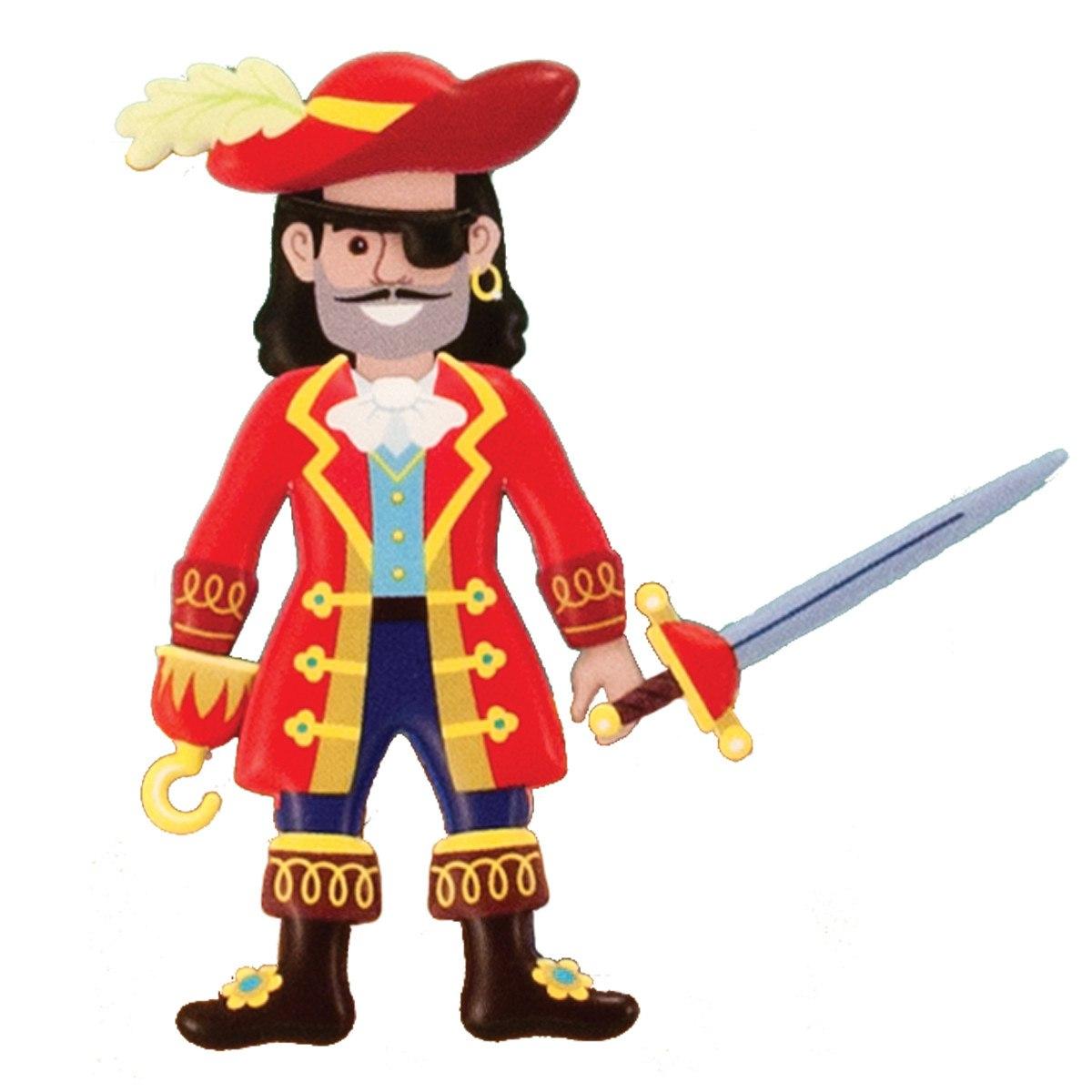 Klistermärke-set Pirater