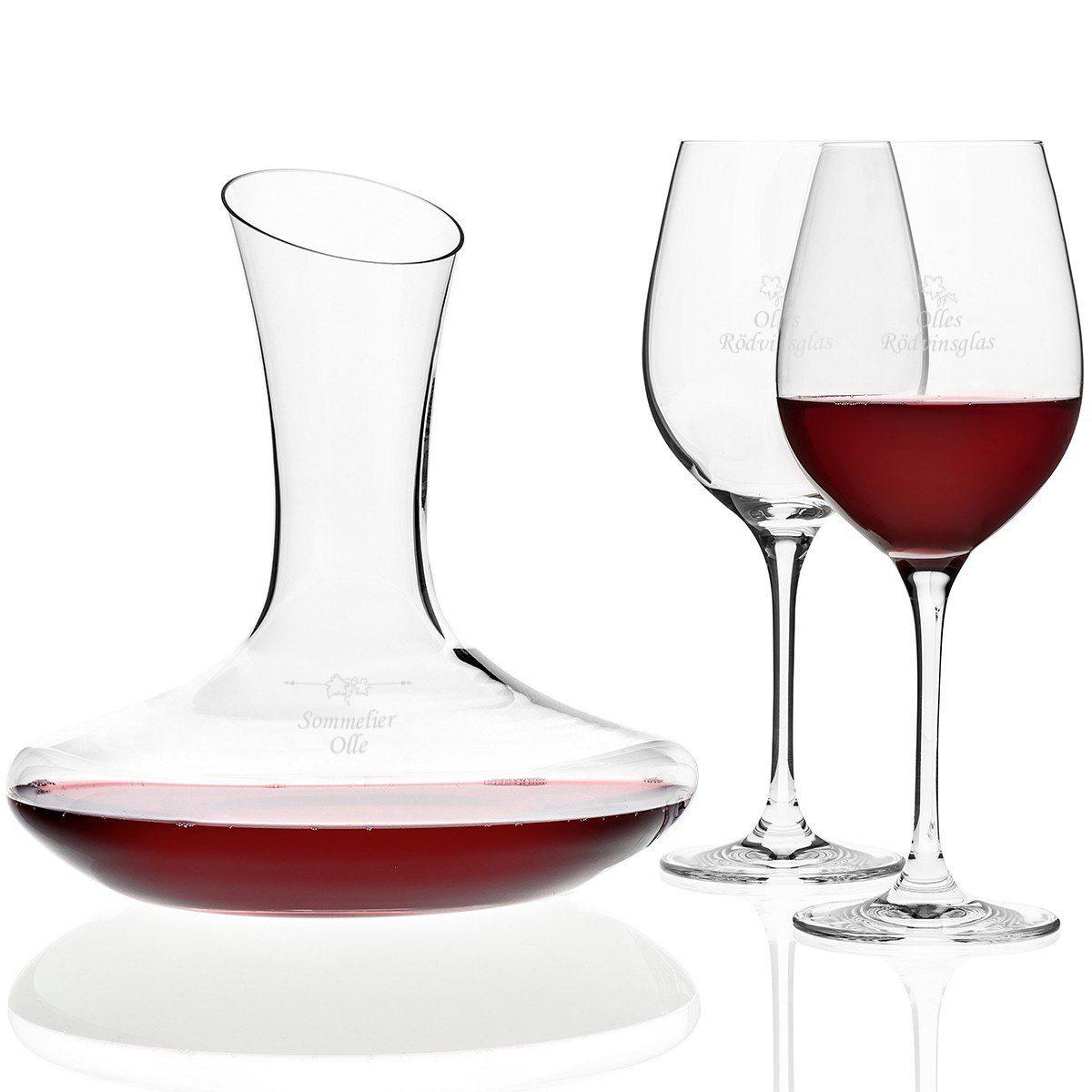 Rödvinset för vinälskare - klassisk present
