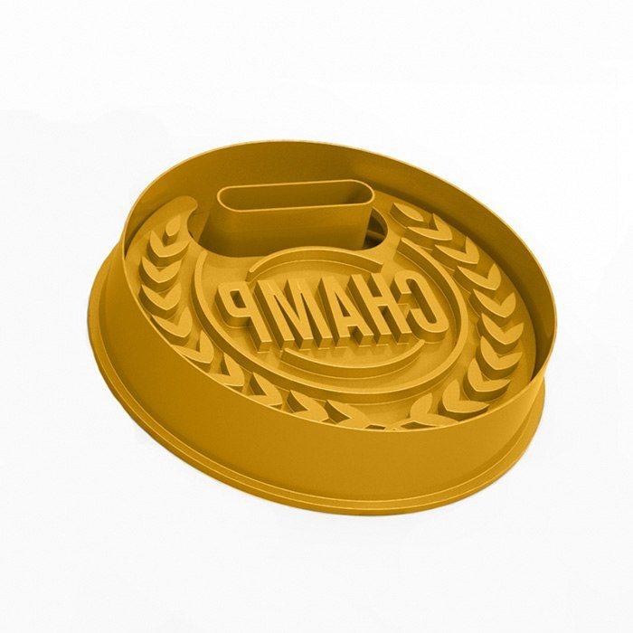 Medalj kakformar