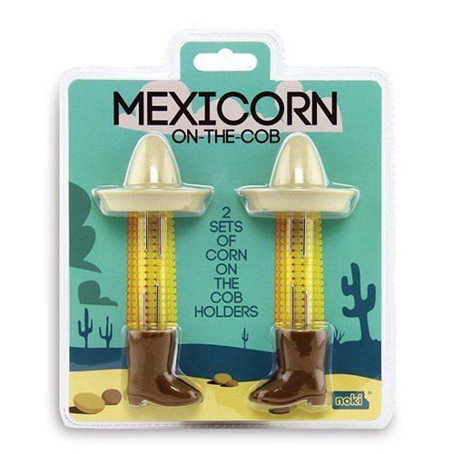 Mexikanskinspirerade Majskolvshållare
