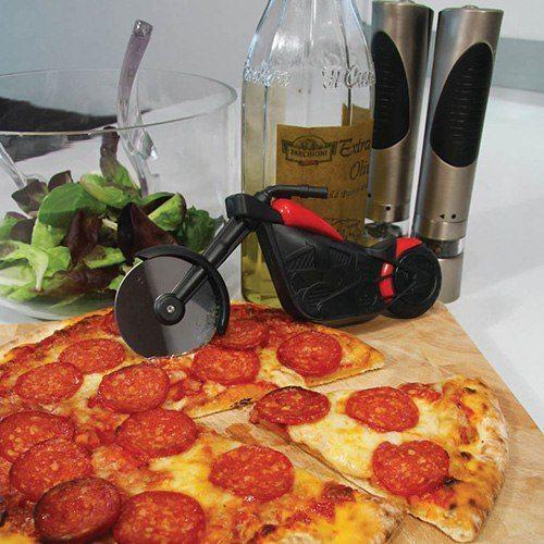 Motorcykel pizzaskärare