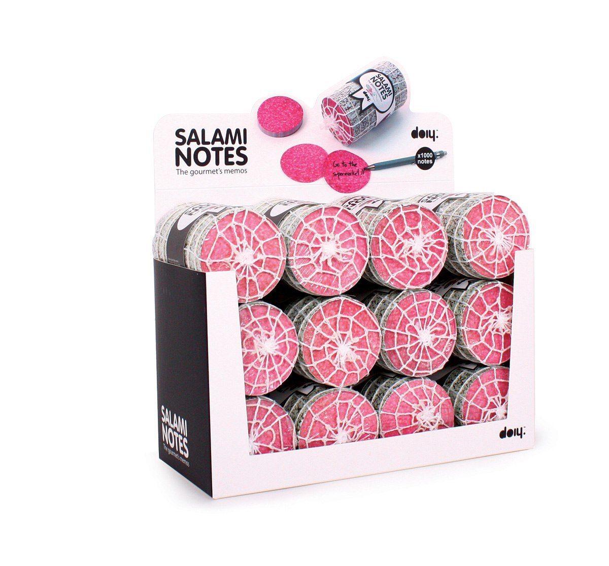 Post-it-salami