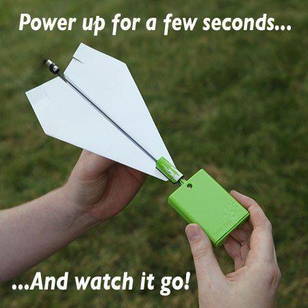 Power Up 2.0 – Motor till pappersflygplan
