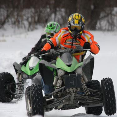 Quadrunners ATV-race - Stockholm - Grön