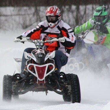 Quadrunners ATV-race - Stockholm - Vit
