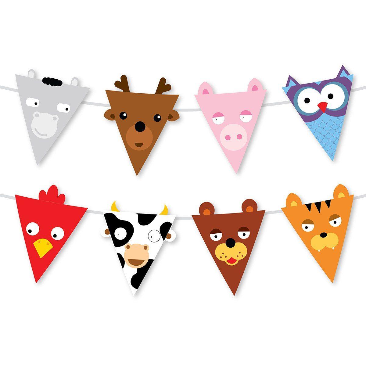 Roliga partyvimplar - Cabezas de animales decoracion ...