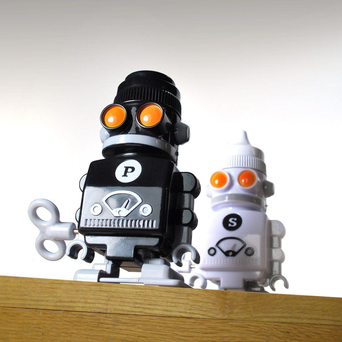 Salt och Peppar-robotar