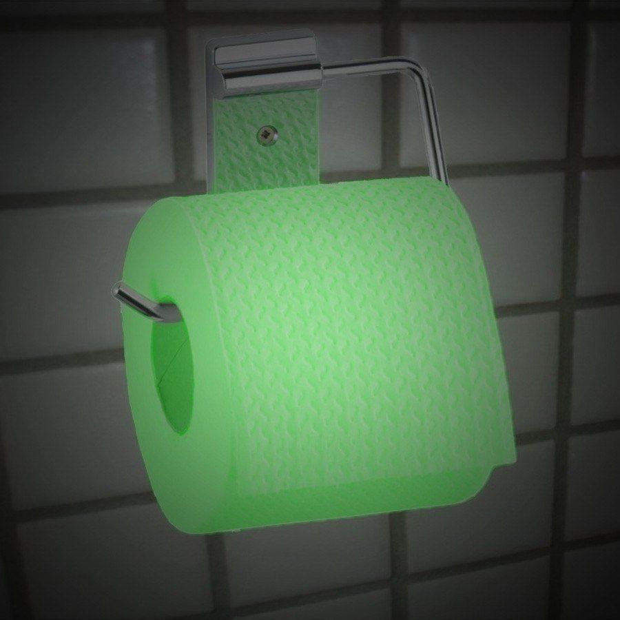Självlysande toapapper