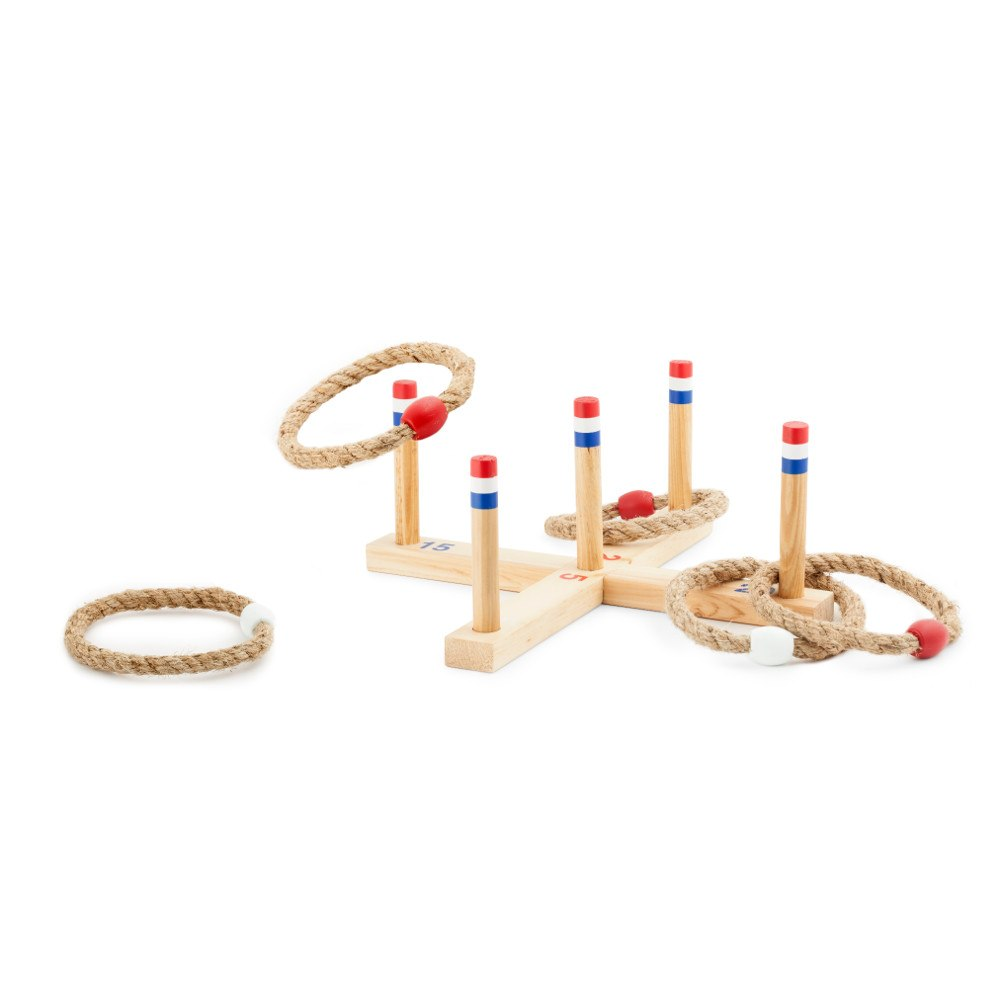 Spel för familjen: kasta ringar