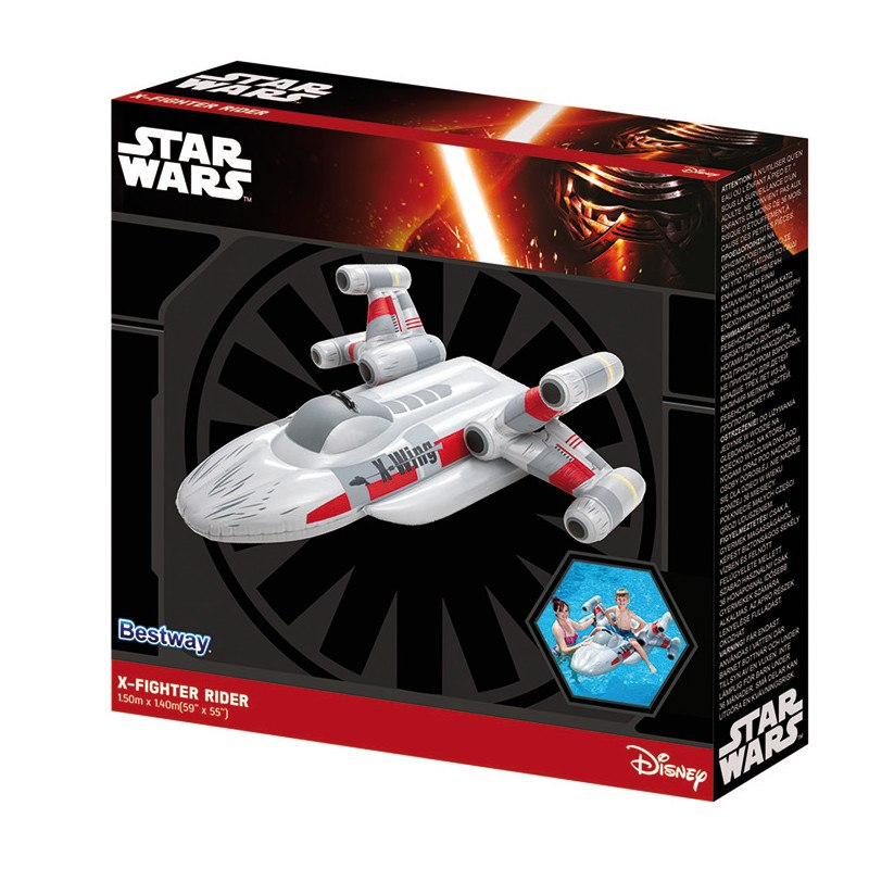 Star Wars vattenleksak X-fighter