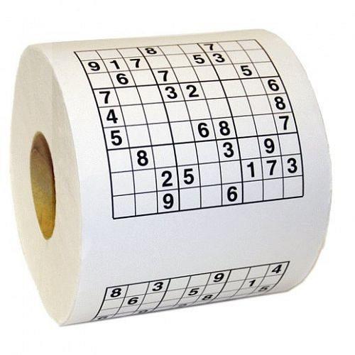 Sudoku toalettpapper