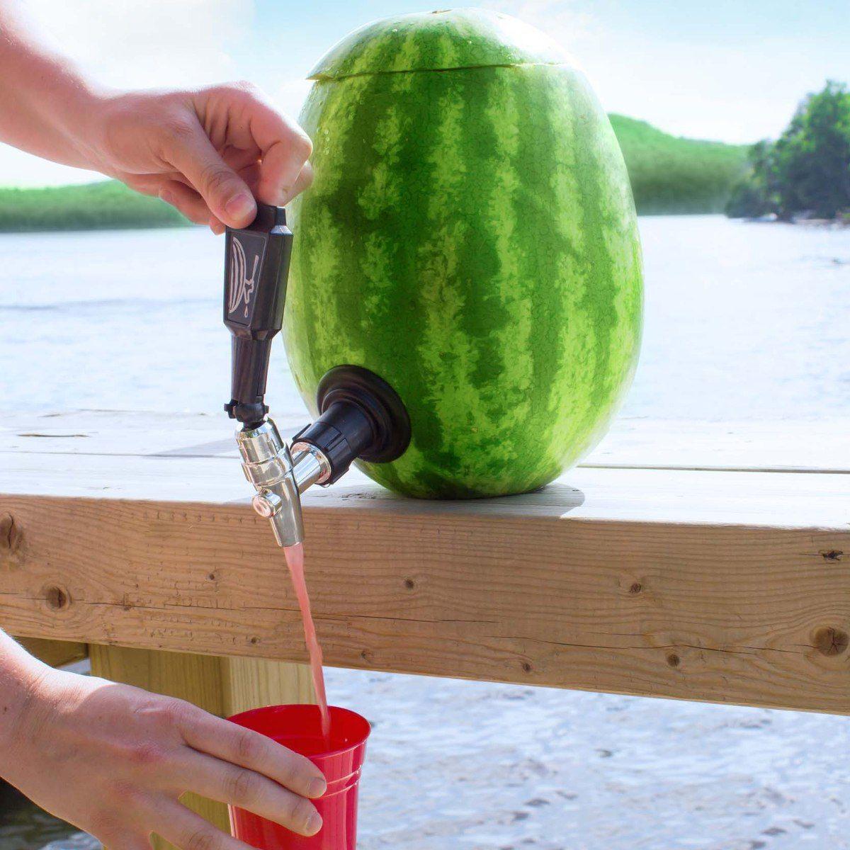 Tappkran till pumpa och vattenmelon