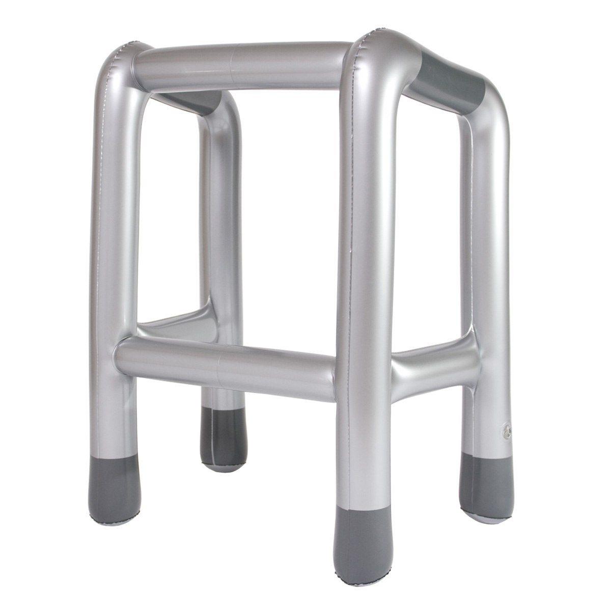 Uppblåsbar gåstol