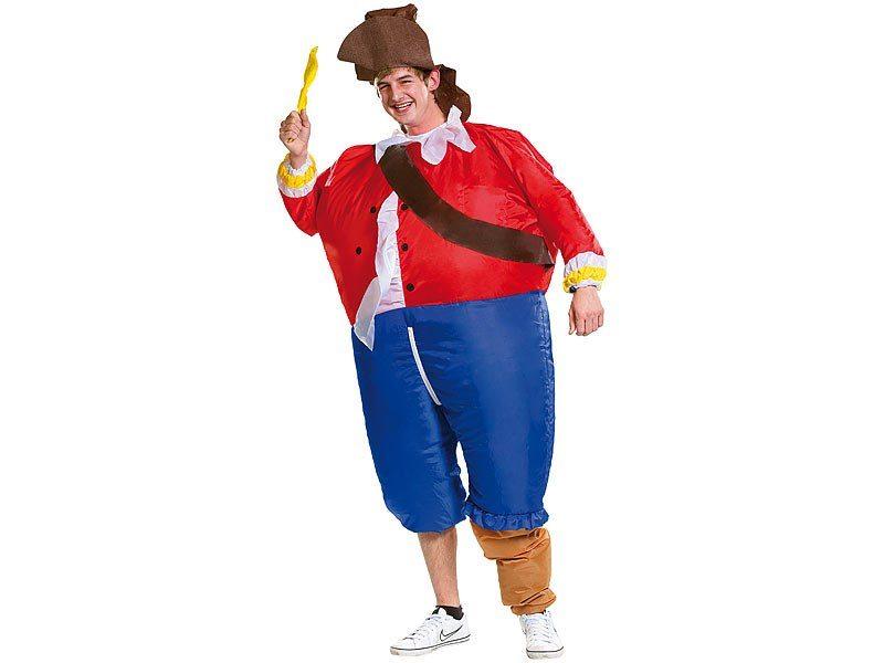 Uppblåsbar piratkostym