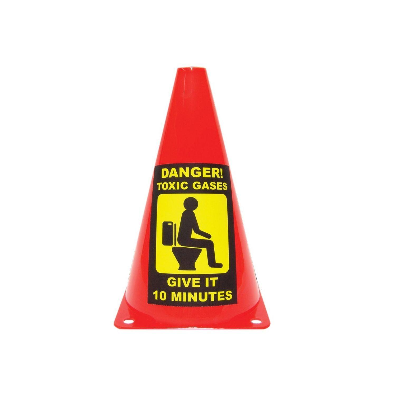 Varningskon för WC