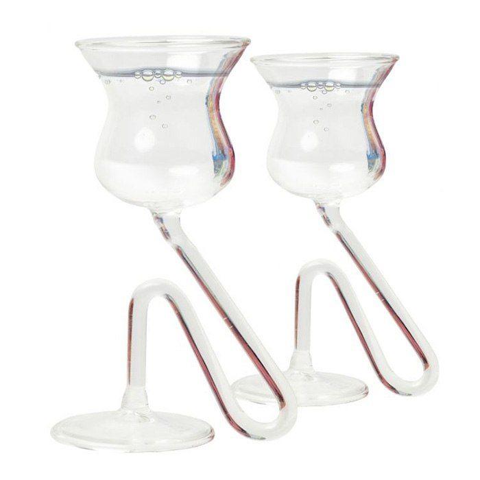 Vingliga snapstglas