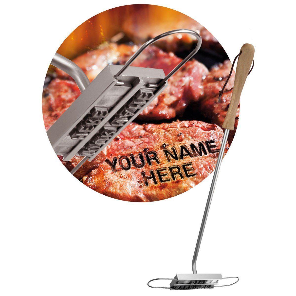 BBQ Branding Iron – Grilljärn med utbytbara bokstäver