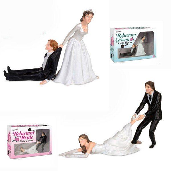Bröllopstårtefigurer
