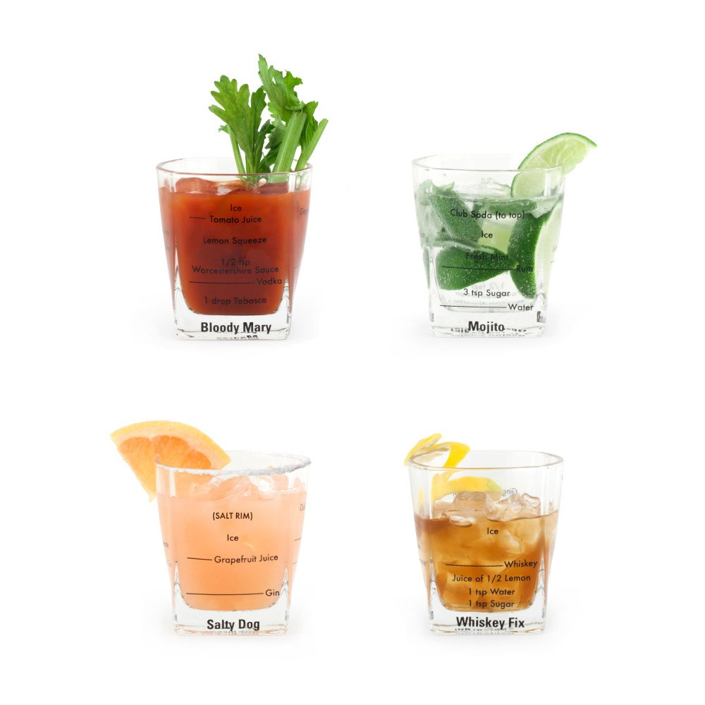 Drinkglas med recept