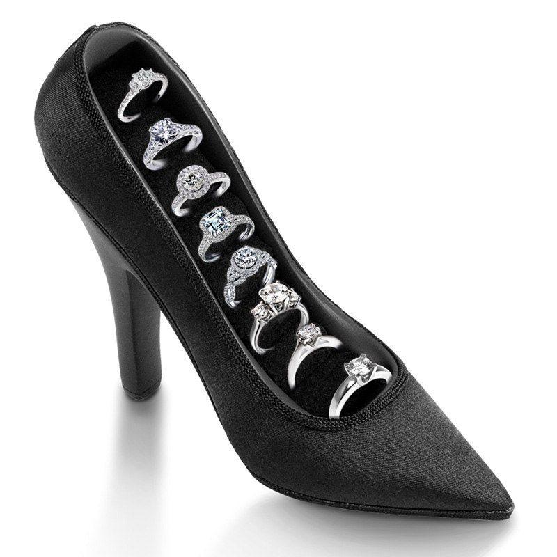 High Heel - Förvaring av ringar