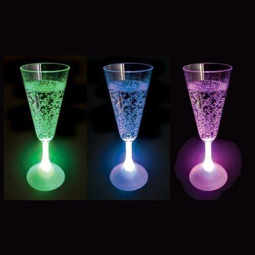 LED Champagneglas