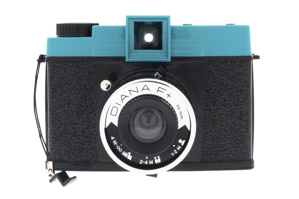 Lomo-kamera Diana F+ (utan blixt)