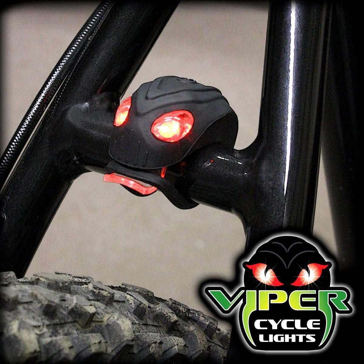 Orm LED-cykellampa