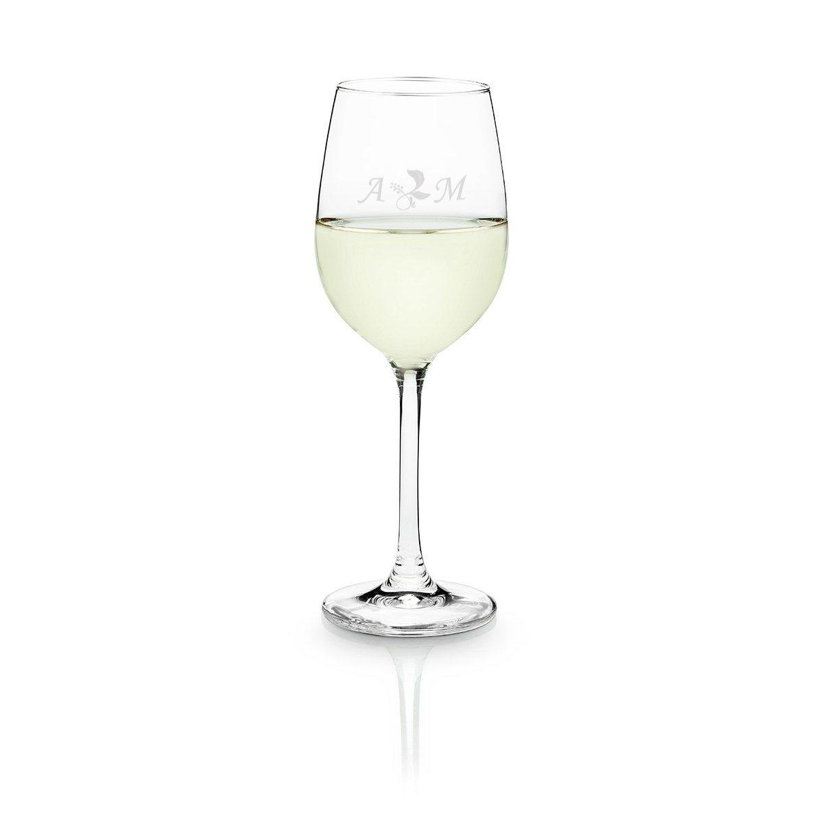 Personligt vitvinsglas från Schott Zwiesel