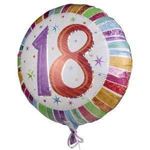 18-års ballong