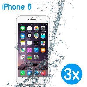 3 x mobilskal för iPhone 6