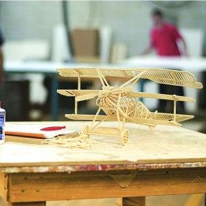 3D-Byggsats i trä
