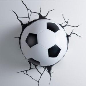 3D lampa - Fotboll