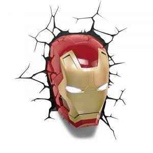 3D lampa - Iron Man