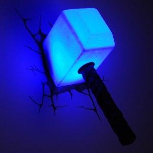 3D lampa - Tors hammare