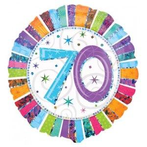 70års-ballong